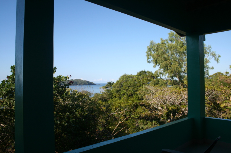View From The Balcony Upstairs at La Casa Verde Panama