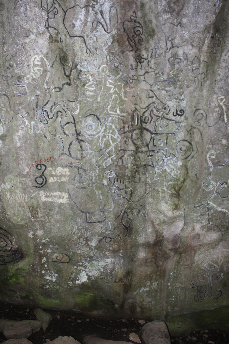 Petroglyphs at El Valle