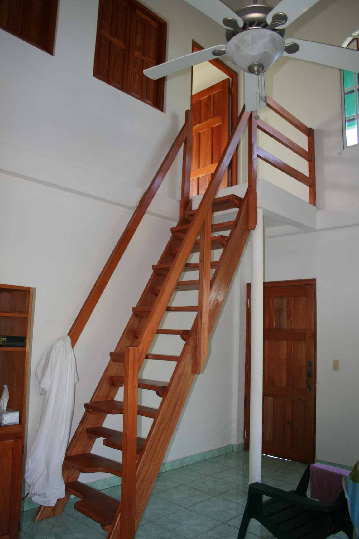 Upstairs at La Casa Verede Panama