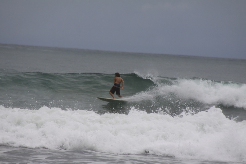 Kyler just wants to surf